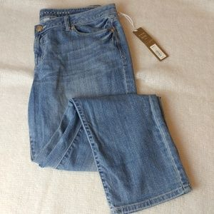 "NWT Lauren conrad ""the roll cuff"" skinny jeans 16"